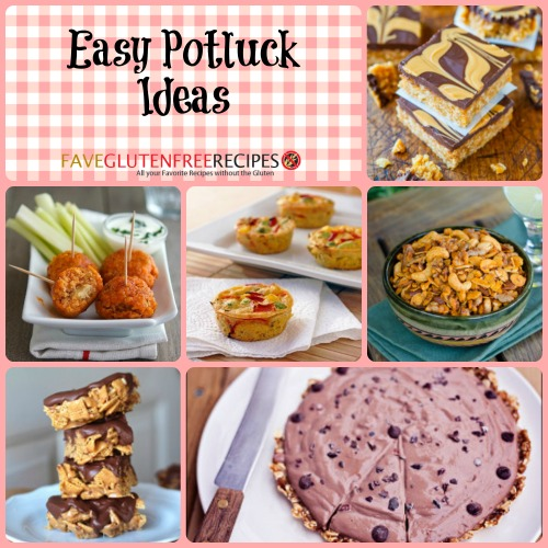 40 Easy Potluck Recipes For Your Graduation Party: FaveGlutenFreeRecipes.com